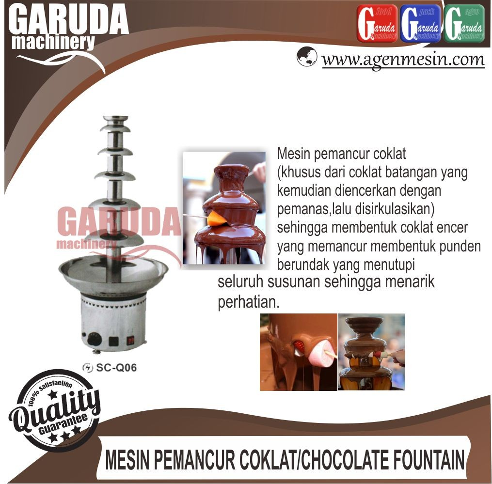 jualMesin Pemancur Coklat - Chocolate Fountain