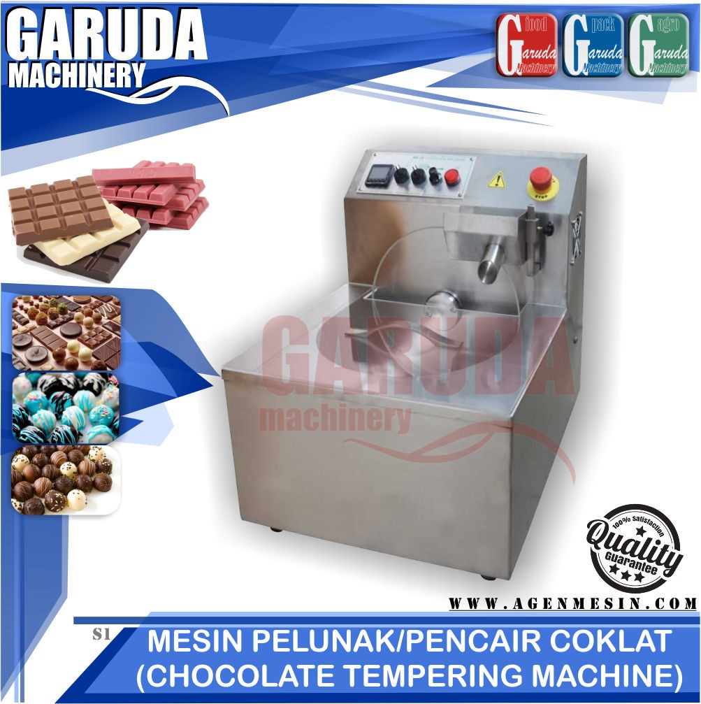 jualMesin Pelunak / Pencair Coklat (Chocolate Tempering Machine)