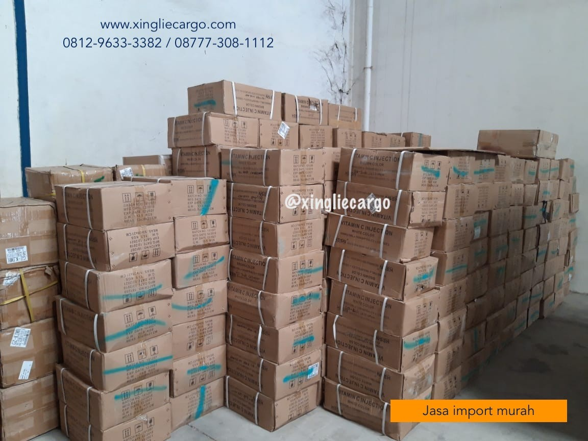 jualJasa Cargo Borongan China Indonesia