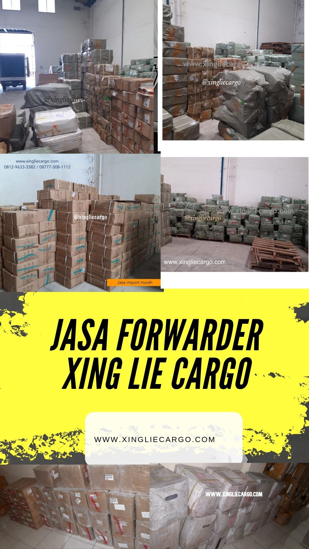 JASA FORWARDER IMPORT XING LIE CARGO