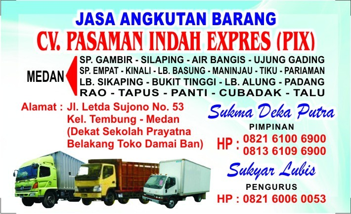 Agromaret cv-pasaman-indah-express profile photo
